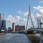 Erasmusbrug, stukje Rotterdam