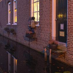 gluren in Willemstad