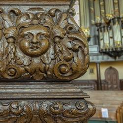 Nieuwe Kerk Groningen -detail