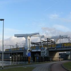Spoorbrug over de Delftse Schie