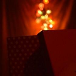 Licht uit een doosje