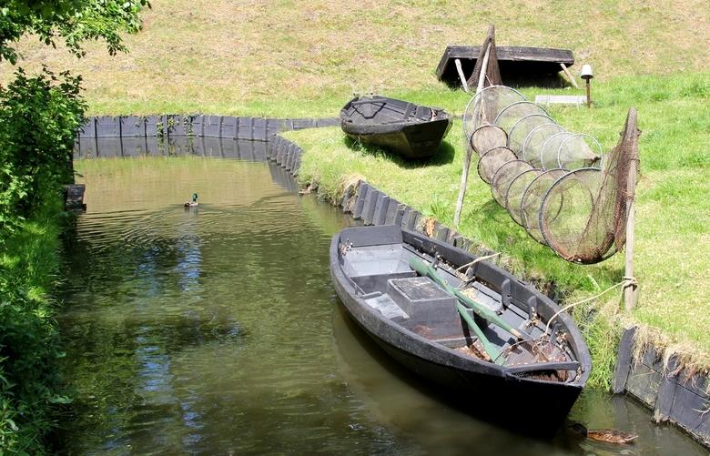 Vissersbootje - Zuiderzee museum.