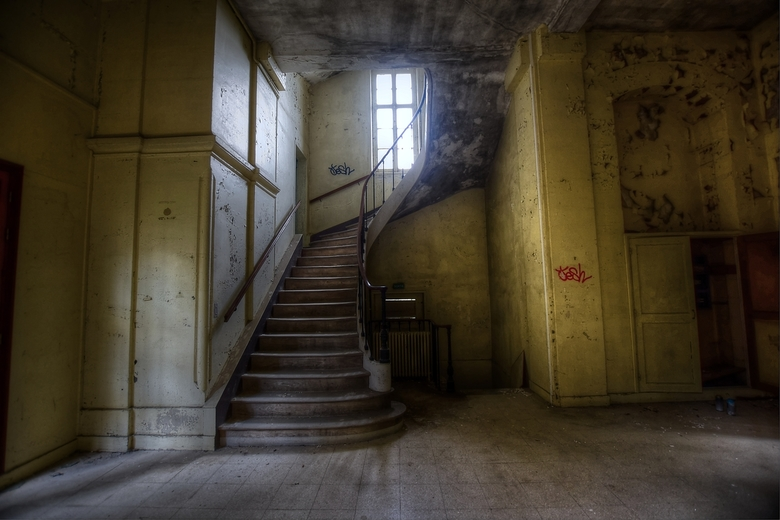 let's take the stairs -