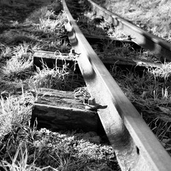 oude trein baan