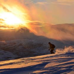 Sundown Skier