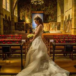 Amazing bride at an amazing place