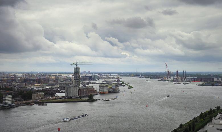 Pluk de Dag 3 - Over  de Rand...<br /> En het  zicht over Amsterdam.