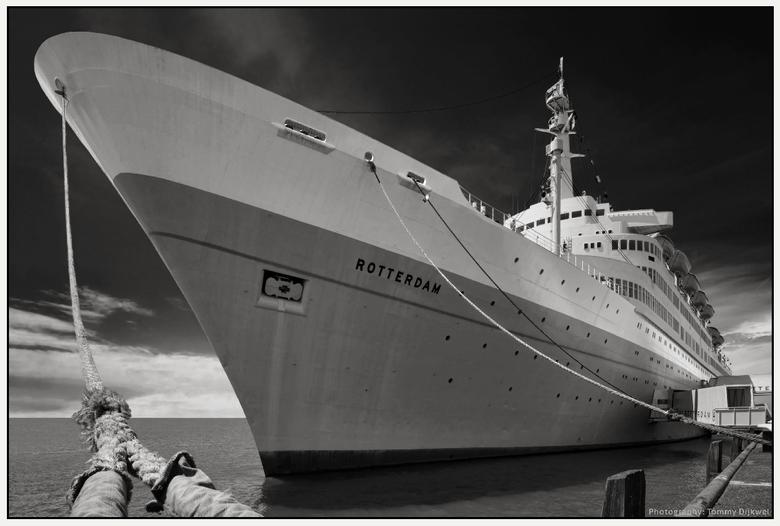 """Rotterdam - <span style=""""font-weight:bold;"""">Rotterdam</span><br /> <br /> Het stoomschip Rotterdam (1959) maakte deel uit van de vloot van de Hollan"""