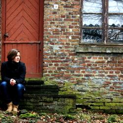 Limburg, bij een oud huis.