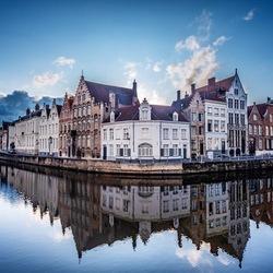 Blauwe uurtje in Brugge
