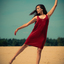 Sand dance..
