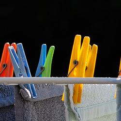 Kleurige Knijpers