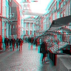 regen op kerstmarkt Dordrecht 2019 3D
