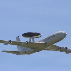 Awacs nato radarvliegtuig