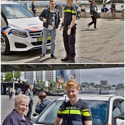 Politie op Willemsplein.