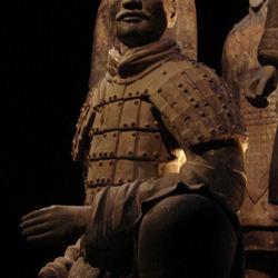 Terracotta Army geknielde generaal