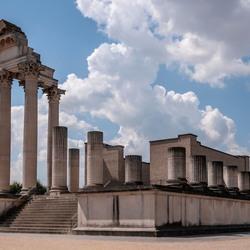Romeinse haven tempel in Xanten-1