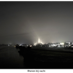 rhenen bij nacht