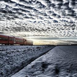 Arriva trein Bad Nieuweschans-Groningen