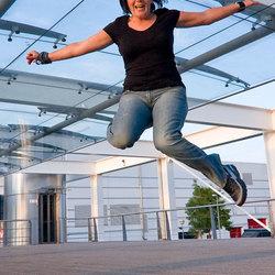 Foto van Hester voor mijn Jump serie