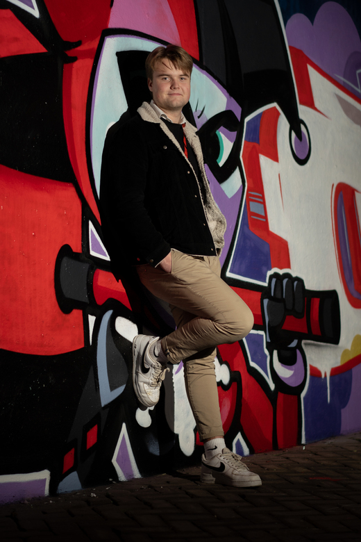 Graffiti portret -