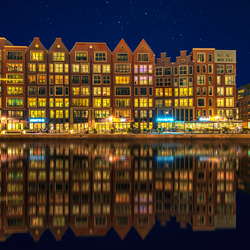 Alkmaar blue hour