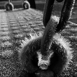 Koud in de speeltuin