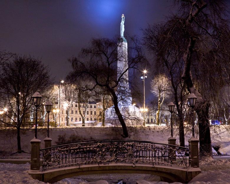 Winter in Riga -