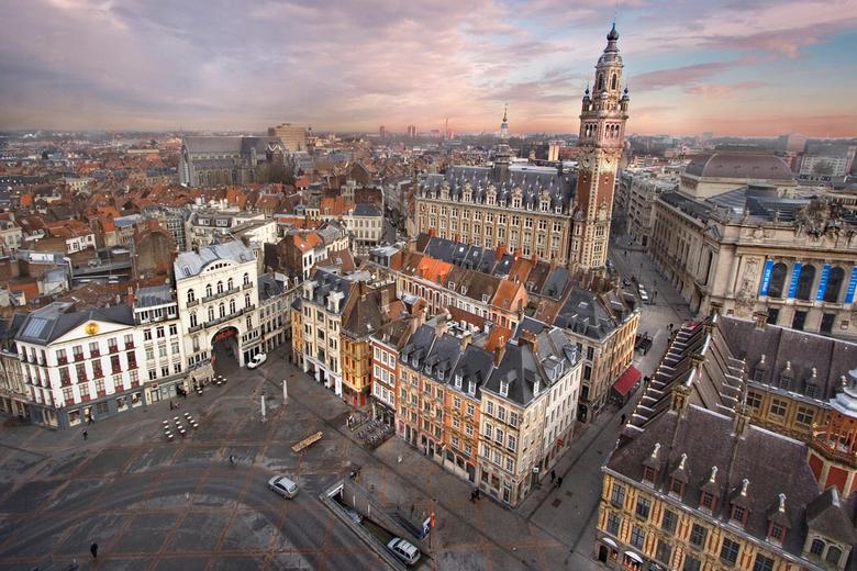 Uitzicht over Lille - Lille in December 2011
