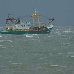storm op zee