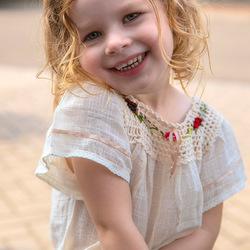 Snapshot van mijn kleindochter op haar derde verjaardag
