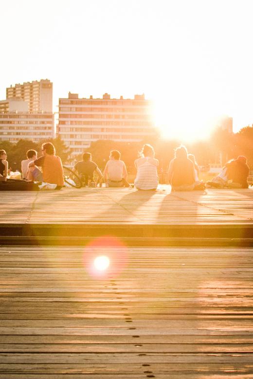 Summer Sun - Een mooie zomeravond in Antwerpen