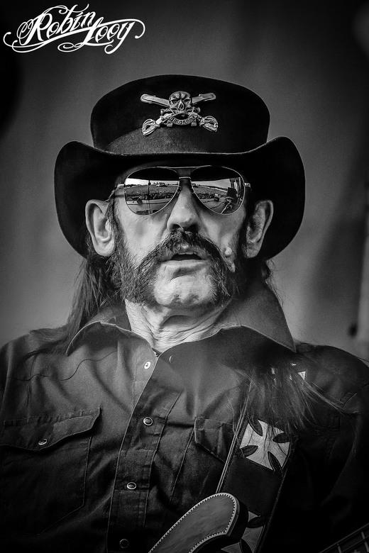 Lemmy Kilmister - De laatste foto die ik ooit mocht maken van Lemmy Kilmister. Helaas is deze held ons pas ontvallen, maar ik ben blij dat ik een paar