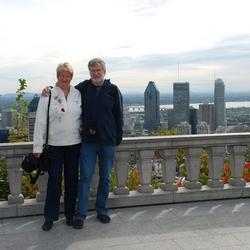 Montreal: parc Mont Royal met balkon