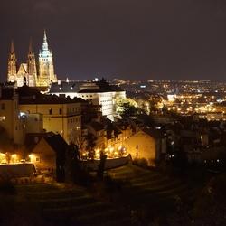 Praag by night