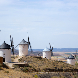 Los molinos de viento de Don Quichot