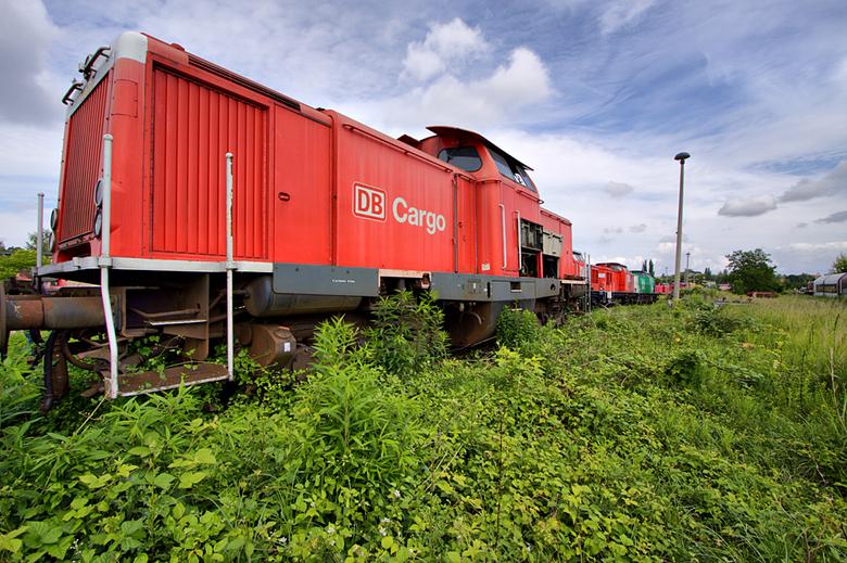 Deutsche bahn 9 - Op 21-6-2009 hebben Jos,Ewout en ik een bezoek gebracht aan deze pracht locatie.<br /> <br /> Er was hier eigenlijk nog totaal gee
