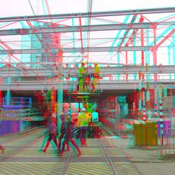 Metro/trein station Alexander Rotterdam 3D