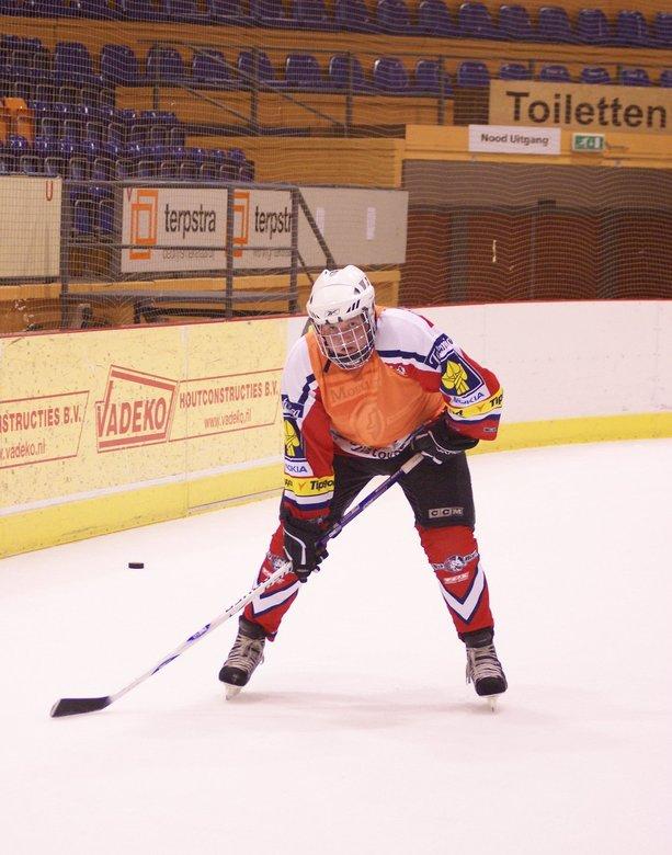 Lets play hockey - Voorbereidingen voor IJshockey zijn weer van start gegaan.