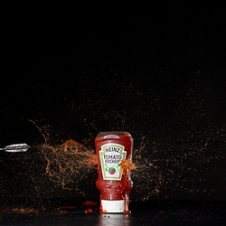 Ketchup everywhere