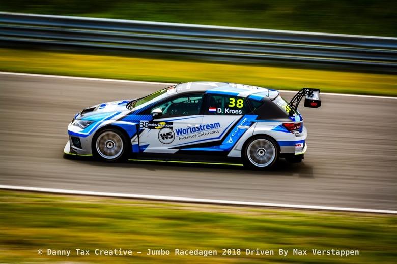 Danny Kroes bocht 9 - Circuit Zandvoort  - Danny Kroes TCR Benelux Klasse, Panning shot