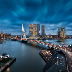 Wolken boven Rotterdam