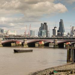Londen - Thames - Blackfriars Bridge - St Pauls Cathedral-Cheesgrate-Walkie Talkie