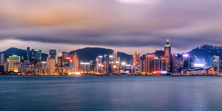Skyline of Hong Kong VIII - Voor meer foto&#039;s - http://www.chopen.nl/<br /> Volg mij ook op facebook - https://www.facebook.com/chopen.nl