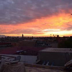 sunset Marrakech