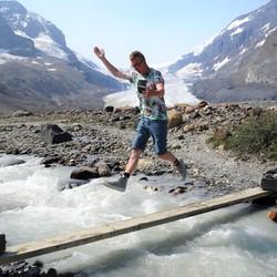 2018 Athabasca gletsjer