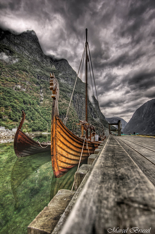 The Vikings - Genomen in 2009 met mijn Canon 40d.<br /> Dit was in het mooie plaatsje Gudvangen in Noorwegen.