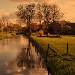 Avondsfeer in Zoetermeer