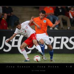 Jong Oranje - Jong Polen 1-0 - Julien Jenner