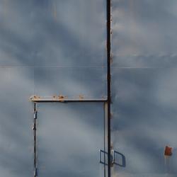 Minimalisme - Metalen Muur